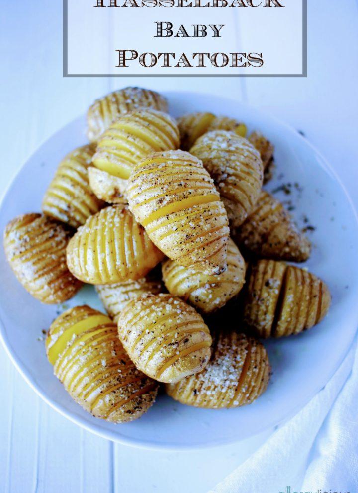 Hasselback Baby Potatoes