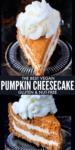 Pumpkin Cheesecake long pin