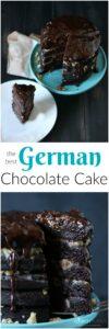 The most amazing Gluten free & allergy friendly German Chocolate cake around!