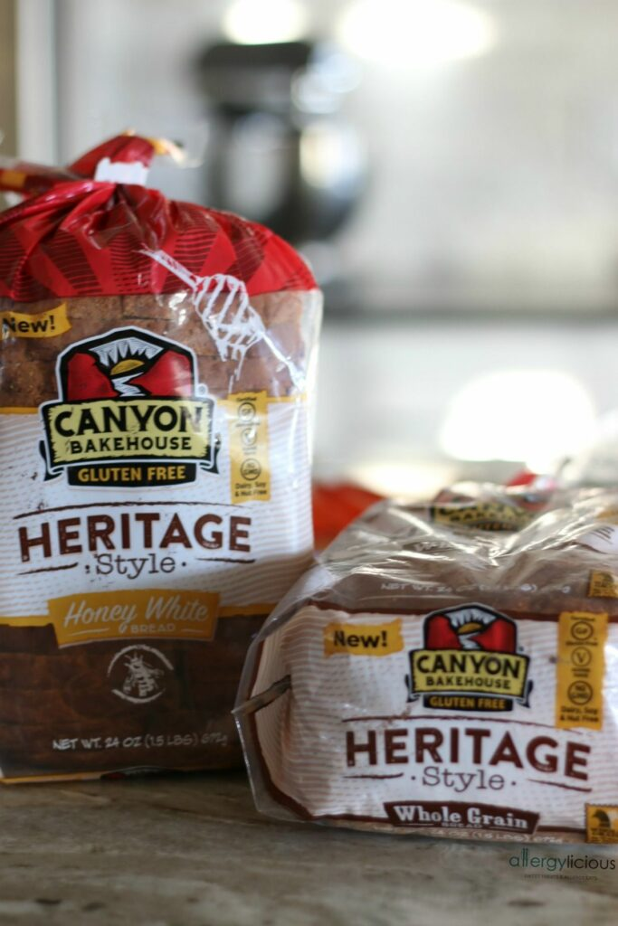 Delicious #glutenfree #wideloaf bread, new from Canyon Bakerhouse
