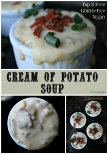 This soup is comfort food at its finest. Rich & velvety, dairy-free potato soup.