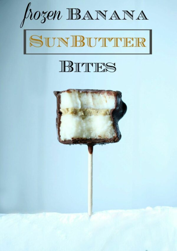Chocolate Banana SunButter Bites