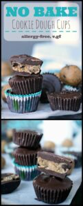 These chocolate chip cookie dough cups are a cookie lover's best friend! Eggless, allergy-friendly chocolate chip cookie dough, covered in creamy chocolate coating.