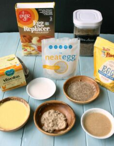Your allergy-friendly & vegan guide to egg replacers