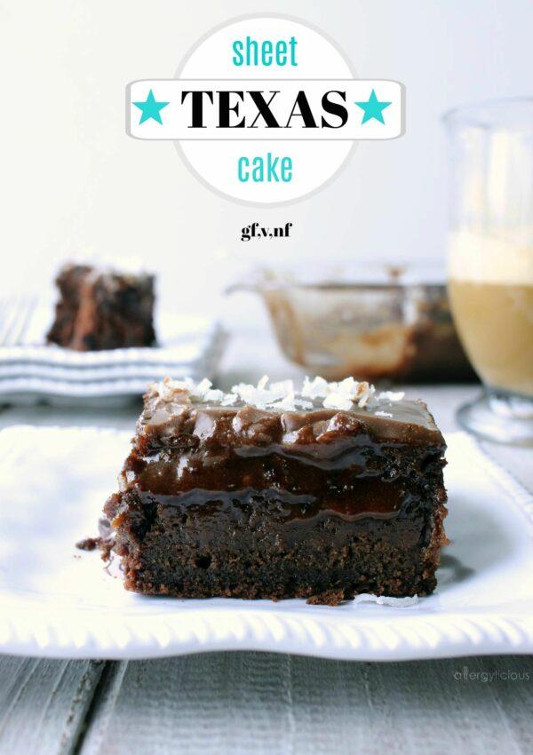 Texas Sheet Cake with Fudge Icing