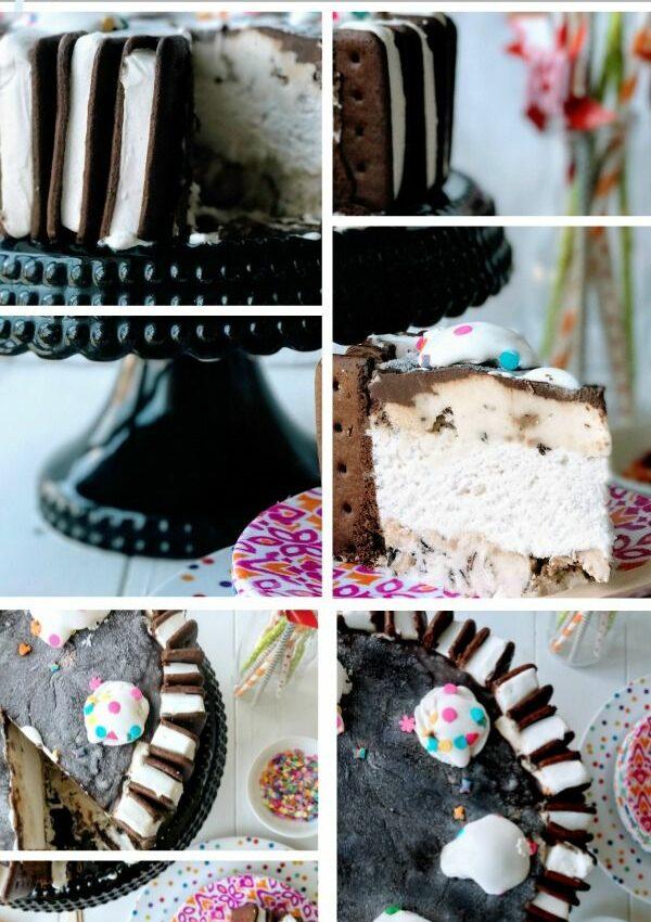 Cool & creamy, 3 Step, Ice Box Cake. Vegan & Nut Free with GF option