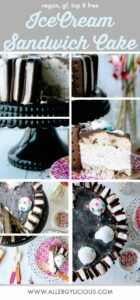 Cool & creamy, 3 Step, Ice Box Cake. Vegan & Nut-free with GF option