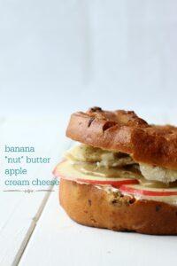 Fruit & fun bagel sandwich ideas