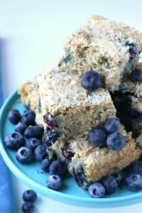 Blueberry Lemon Snack Cake {with coconut}
