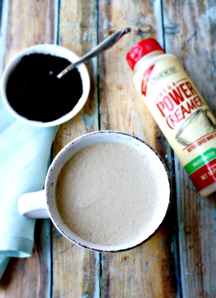Easy KETO Coffee {paleo + gluten-free}