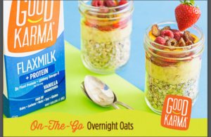 Overnight Oats with Good Karma