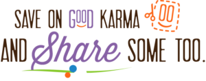 Pour the Goodness coupon with Good Karma