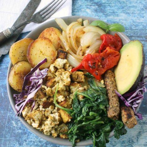 Savory Potato Breakfast Bowl