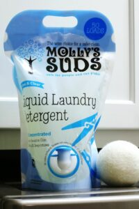 Kick dirt to the curb + make laundry cleaner