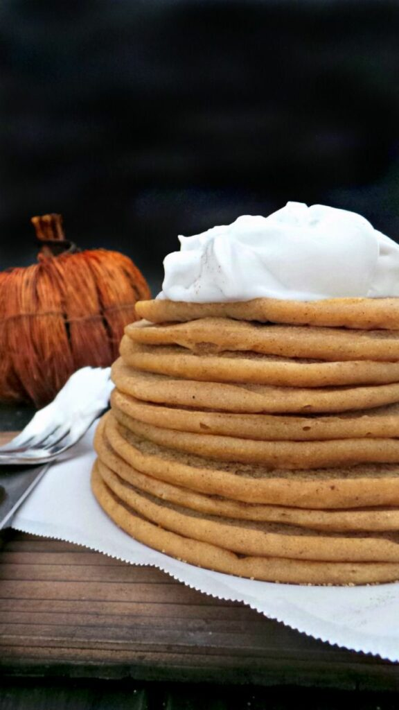 Pumpkin Pancakes to start your Thanksgiving morning