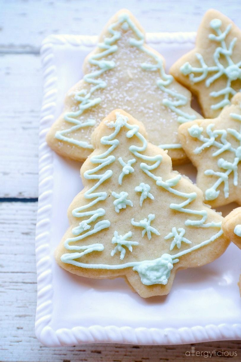 Vegan Sugar Cookies Gluten Free Nut Free Allergylicious