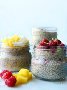 Chia Seed Pudding (two ways) by Vegan Weight Loss Manifesto