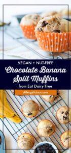 Chocolate Banana Split Muffin Pinterest