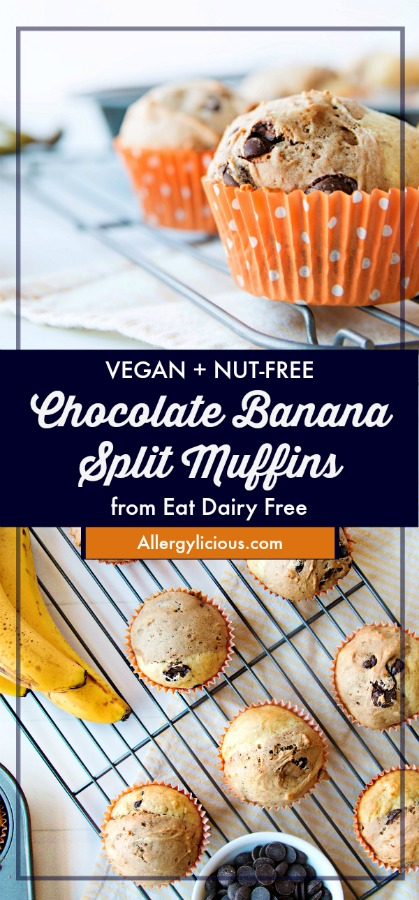 Chocolate Banana Split Muffin Pinterest