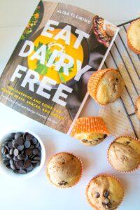 Eat Dairy Free + Chocolate Banana Split Muffin