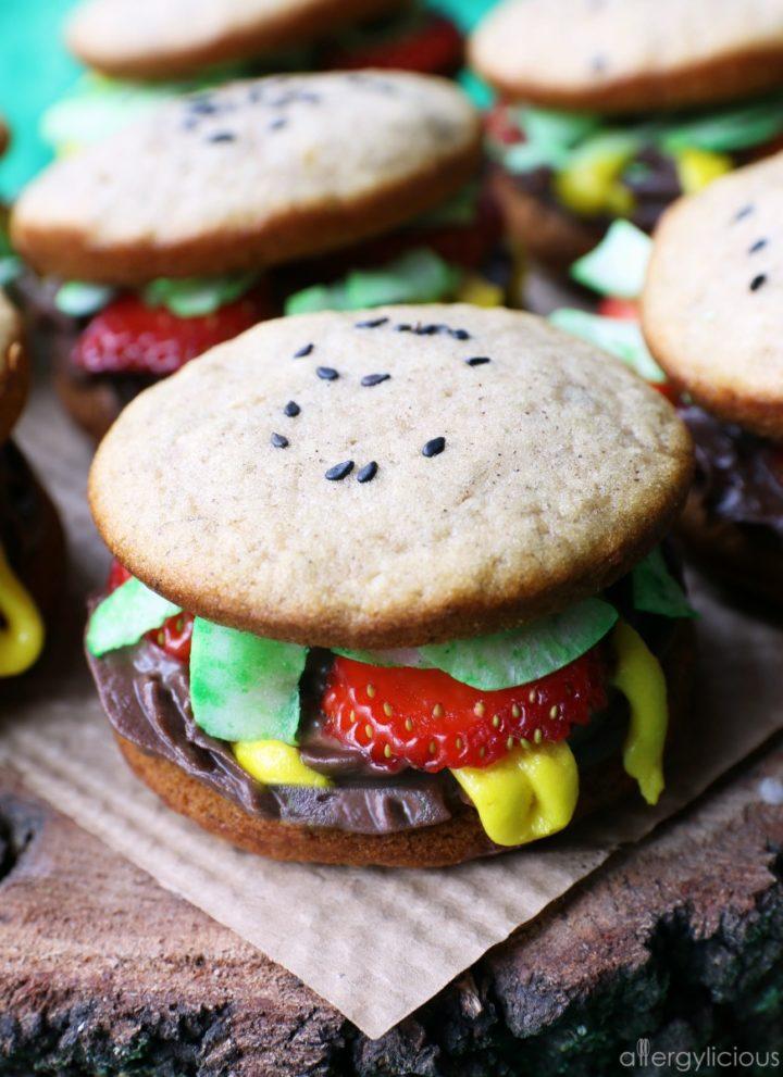Whoopie Pie Burgers | Vegan + Gluten-free
