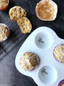 Maple Glazed Donut Muffins |vegan + gluten-free|