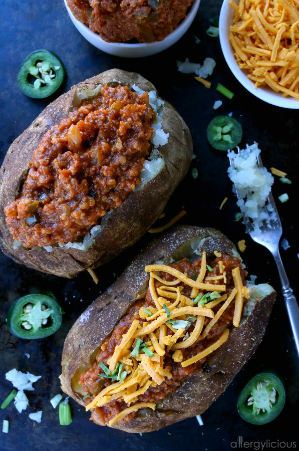 Vegan Sloppy Joes  {Gluten-Free, Top 8 Free}