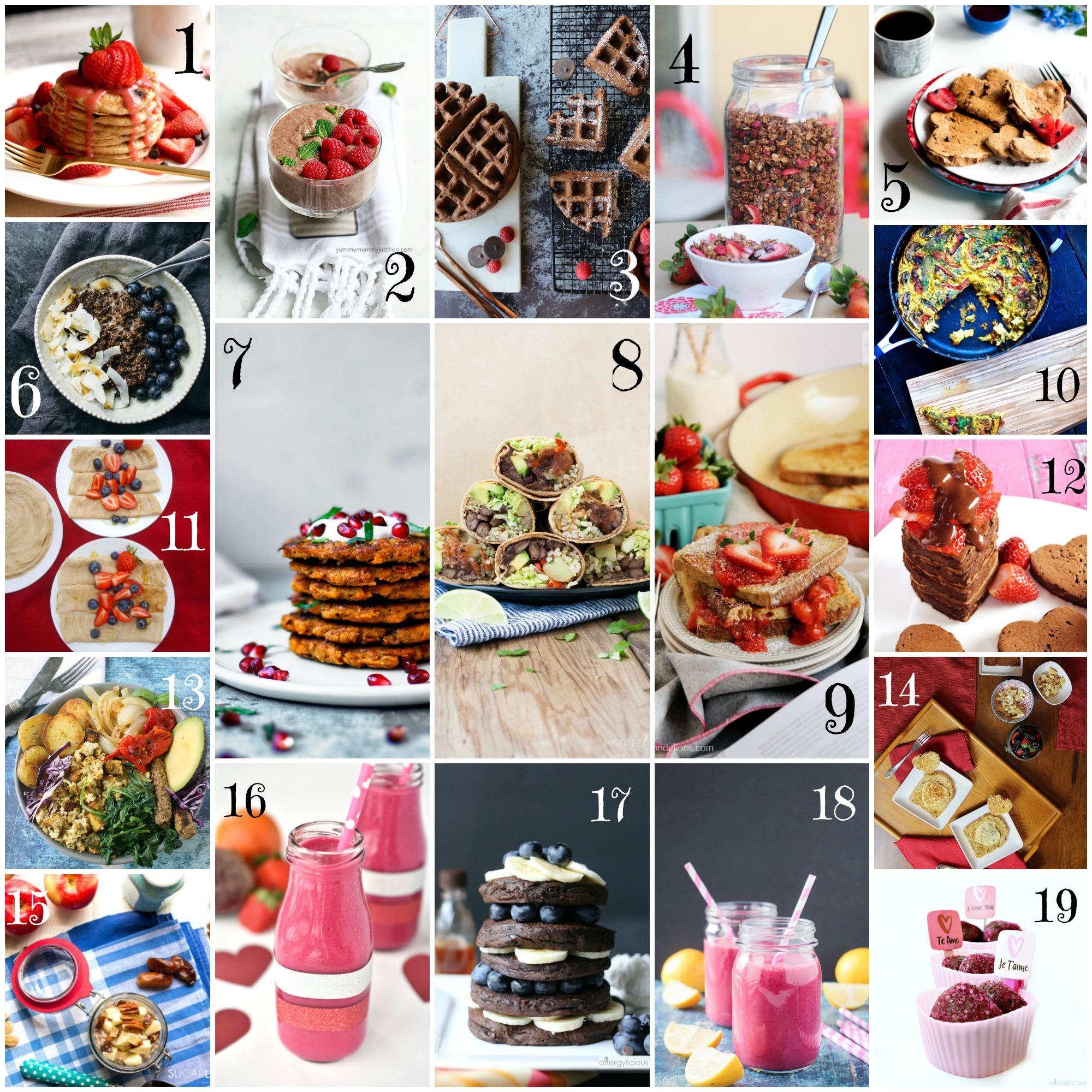 Valentine's Day Breakfast Recipes