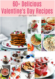 Valentine's Day Recipes - vegan