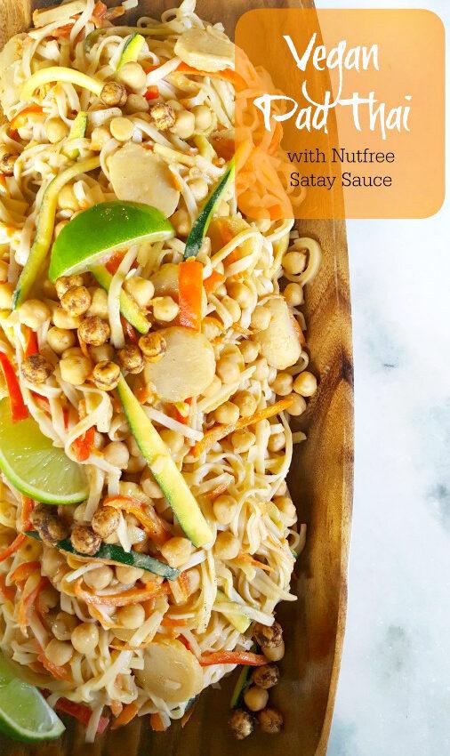 Pad Thai (peanut free and vegan)