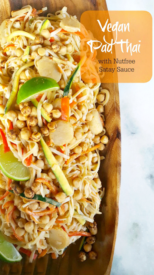 Pad Thai (peanut free and vegan)