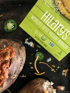 The secret ingredient to these vegan sloppy joes is using @Hilaryseatwell veggie burger