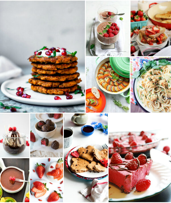The Best Vegan Valentine's Day Recipes {nut-free too}