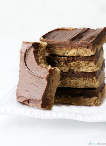 Delight your taste buds with this Chocolate SunButter bar