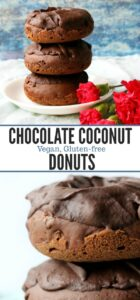 long pin for chocolate donuts