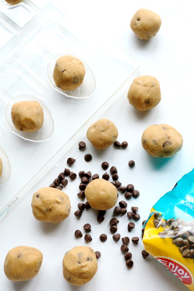Chocolate Cookie Dough Eggs