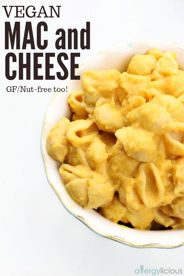The Best Vegan gluten-free Mac and cheese