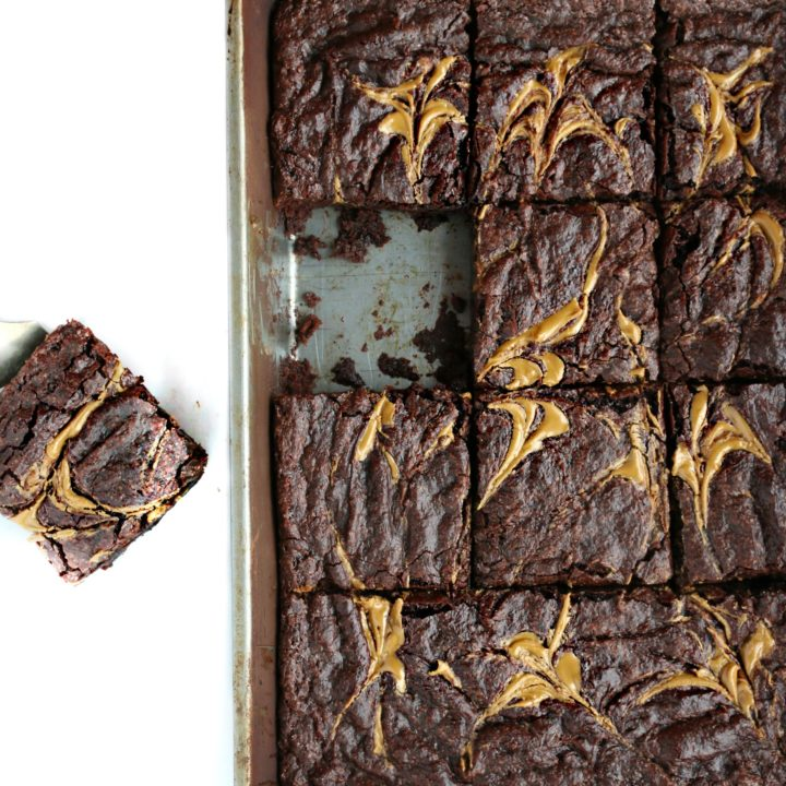 Easy Sunbutter Swirl Vegan Brownies Video Allergylicious