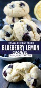 Blueberry Lemon Cookies Long pin