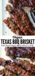 Vegan BBQ brisket for pinterest
