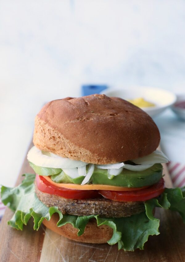 Ultimate Grillable Veggie Burgers