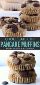 Chocolate Chip Pancake Muffis