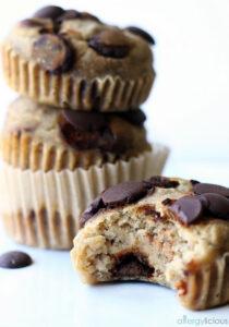 Vegan Gluten-free Pancake Muffins