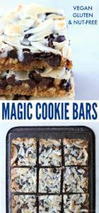 Vegan Magic Cookie Bars Long Pin