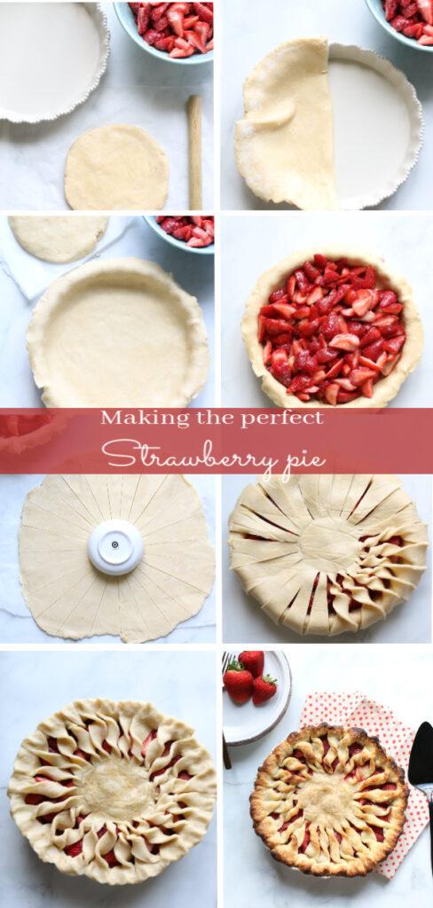 strawberry pie steps