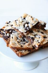 magic cookie bars served