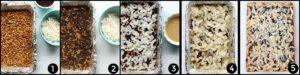 Easy steps to make magic cookie bars