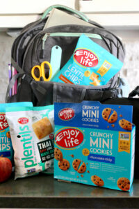 backpack and lunchbox snacks