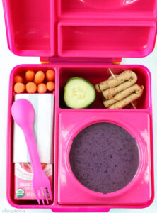 Easy vegan lunchbox