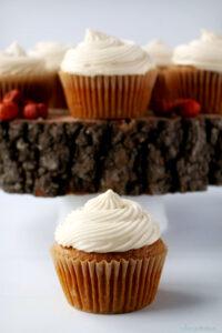 yummy pummpkin cupcakes